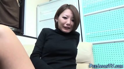 Kinky asian ho pissing