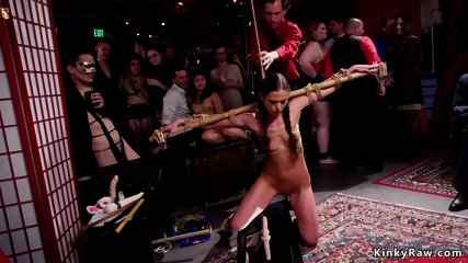 Anal fisting and fucking orgy party