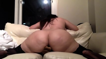 Sexy Babe Pawg Twerks On A Dildo Till She Cums