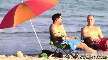 Teen anal brutal solos first time Beach Bait And Switch