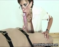lady sonia gobbles cock