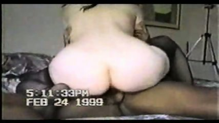 White Chick get fucked by black cock - scene 11