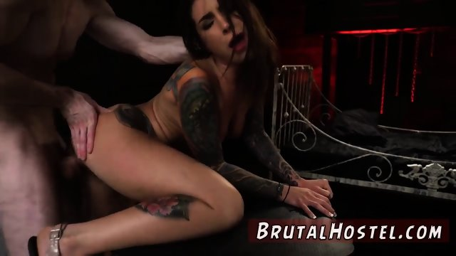 Hardcore brutal dp Excited youthfull tourists Felicity Feline and Jade Jantzen are