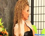 Lez Jenna Lovely Handling Strapon - scene 3