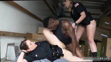 Black men gangbang white girl first time Black suspect taken on a rough ride
