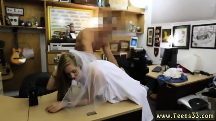 Girl with big ass rides dick first time A bride s revenge!