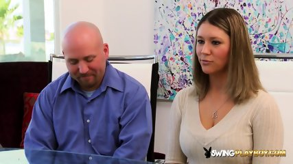 Mandy and Matt head to erotic play in the midst of the swingers party