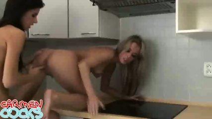 Two hot lesbians - scene 11