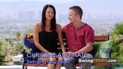 Swinger guests start exchanging partners in a foreplay game. The full swap will be a reality.