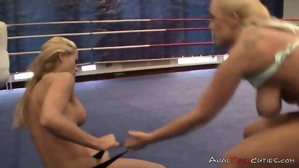 Blonde lesbian wrestlers