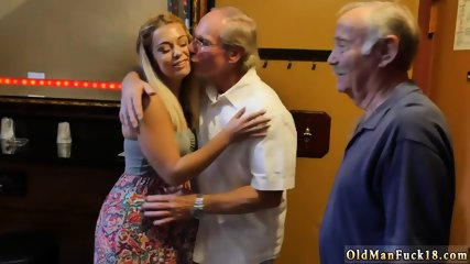 Daddy gives big tits Age ain t nothing but a number!