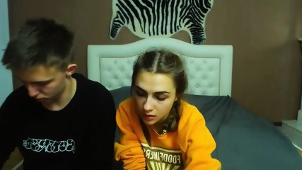 Strange Webcam Couple - scene 8