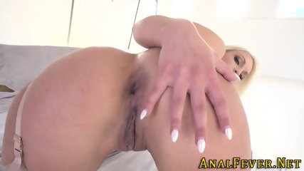 Blonde whores ass railed
