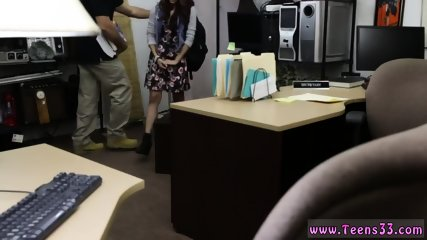 White girl back shots College Student Banged in my pawn shop!