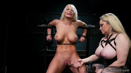 Hot lesbian Milfs anal fisting lezdom