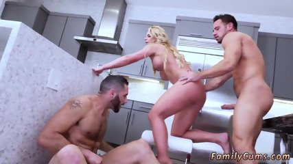 Sexy playmate patron s daughter and  step seduces father Army Boy Meets Busty Stepmom