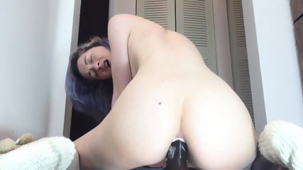 Crazy Webcam Girl Does Anal Destruction - scene 8