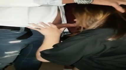 two barely legal 18 year old girls sucking Dicks - scene 6