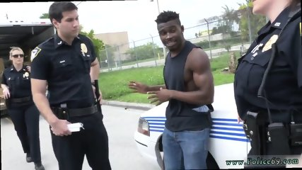 Best amateur facial Black suspect taken on a raunchy ride - scene 6