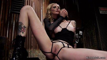 Blonde lesbian anal fucks alt smoker
