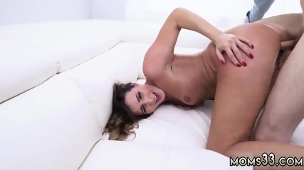 Hot brunette takes huge cock Fucking The Stepassociate s son As Punishment