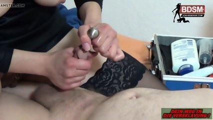 CUMSHOT drainage pipe - Deutsche Fedom BDSM Milf fetisch