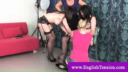 Obliged ferminization to a sissy