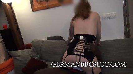 GERMANBBCSLUT wife slut sucking and riding BBC