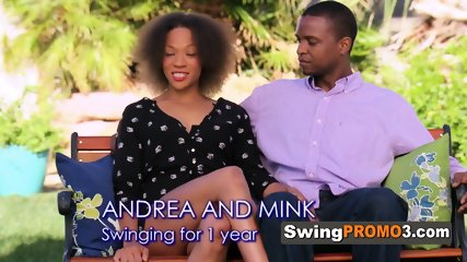 Swinger couple left behind their shyness to open themselves to new experiences in the Swing House.