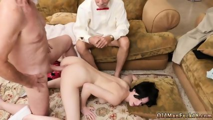 Old men having sex xxx She a steamy small chick that we get to see the dudes have their