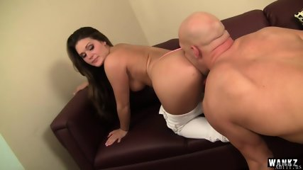 Cute Abby Cross Attracts Stud with Crazy Hot Thong by XMILF.US