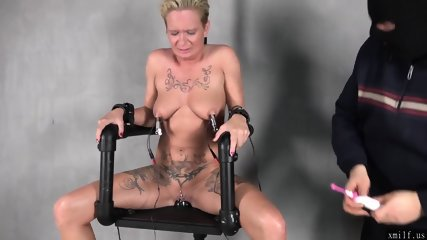 Electric chair under power by XMILF.US