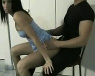 Slutty Lap Dancer gets hot - scene 2