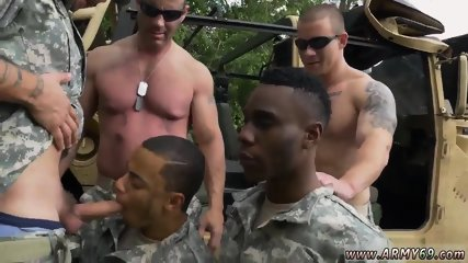 Guy to man sex porno and police gay with amateur R&R, the Army69 way