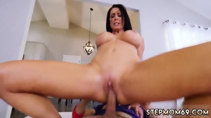 Tattooed step mom fucks playfellow compeer xxx Hot MILF For His Birthday
