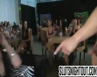 Redhead At Cfnm Party Sucks A Big Cock
