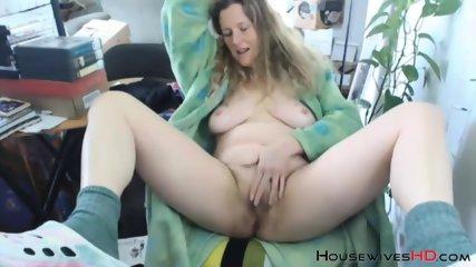 Unshaven goddess nanny KRING with natural big boobies