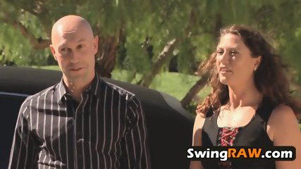Swinger sexy ladies attend TV reality show where their sexual fantasies will come a reality.