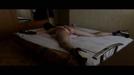 Anus messing up and beating gagged and tied up slut-Trlr