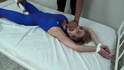 Rare video of Mistress Christina getting owned. Pussy soaks her costume.