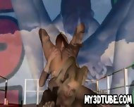 3d Cartoon Lesbian Babe Getting Licked On A Boat