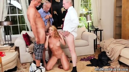 Piss rim old Frannkie And The Gang Tag Team A Door To Door Saleswoman