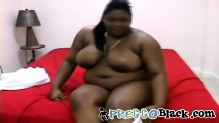 Brutal ebony BBW dominating a loaded BBC