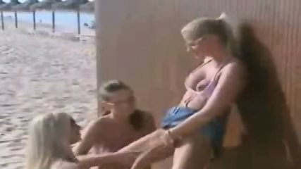 Lesbians on the Beach - scene 12