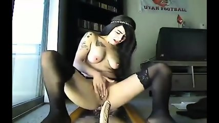Squirter Solo On Mirror