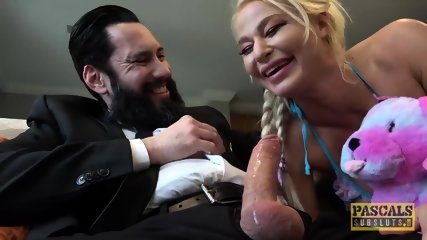 PASCALSSUBSLUTS - London River Dominated Anal Beside Voyeur