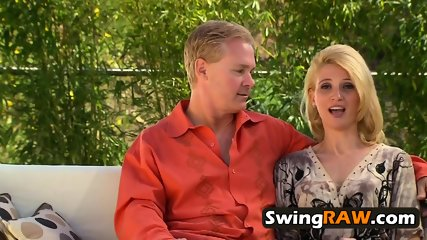 American swinger partners attend TV reality show where their sexual fantasies will come a reality.