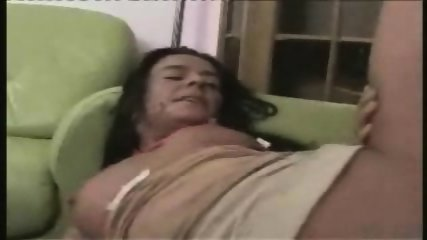 Masculine Woman fucked on Couch - scene 10