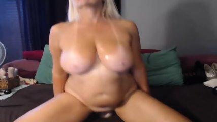 Unpleasant 47 yr old bitch tease on webcam, portion 6