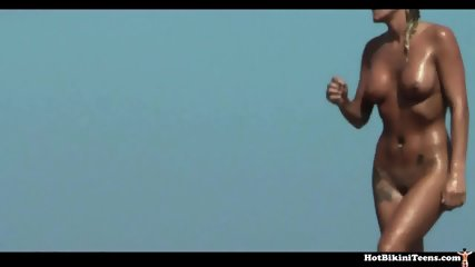 Nude Beach Voyeur Spy Cam Naked Girls - scene 9